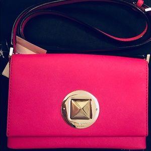 Women's Kate Spade crossbody leather bag/purse